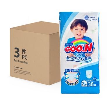 GOO.N大王(香港行貨) - 紙尿褲(男)(加大碼) - 原箱 - 38'SX3