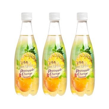 TAO TI - Pineapple Orange Flavoured Drink - 500MLX3