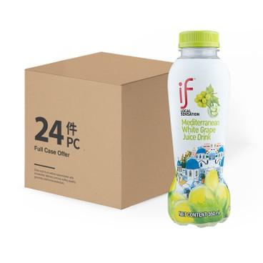 iF - Mediterranean White Grape Juice Drink With Aloe Vera case Offer - 350ML X 24