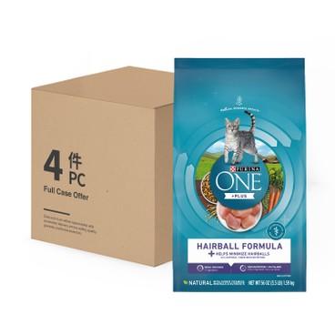 ONE - 乾貓糧 - 去毛球配方 - 原箱 - 3.5LBX4