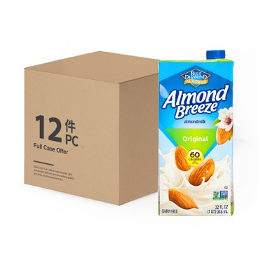 BLUE DIAMOND(PARALLEL IMPORT) - Almond Breeze original case Offer - 946MLX12