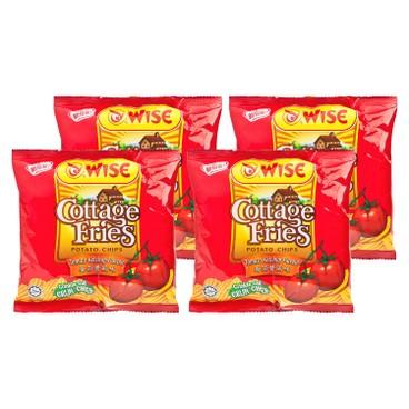 WISE - Potato Chips tomato Flavour - 22G X4