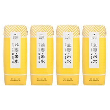 CHECKCHECKCIN - 燕麥米水 (紙包裝) - 250MLX4