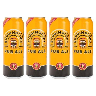 BODDINGTONS - Pub Ale - 500MLX4