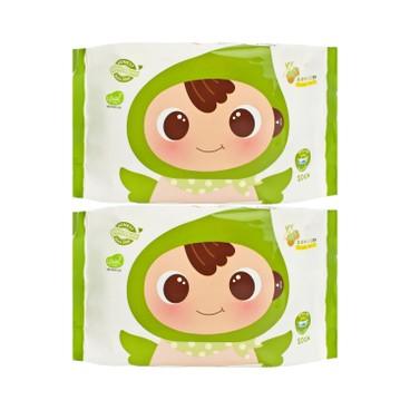順順兒 - 頂級嬰兒濕紙巾 - 20'SX2