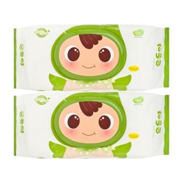 順順兒 - 頂級嬰兒濕紙巾 - 70'SX2