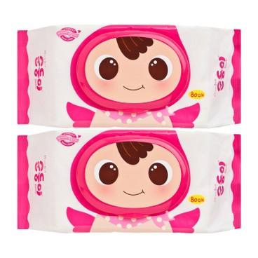 順順兒 - 多用途嬰兒濕紙巾 - 80'SX2