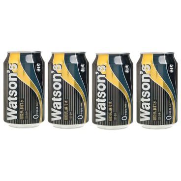 WATSONS - Soda Water - 330MLX4