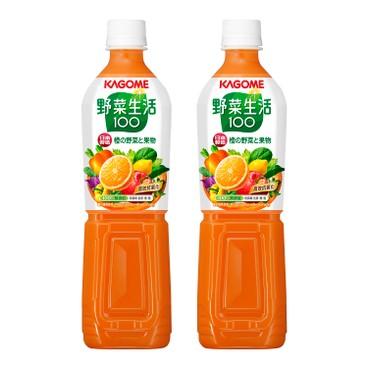 KAGOME - 甘筍混合汁 - 720MLX2