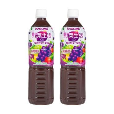 KAGOME - 提子混合汁 - 720MLX2