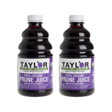 TAYLOR - 100 Organic Prune Juice - 946MLX2