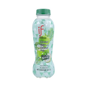 iF - 100 Coconut Water With Coconut Pulp - 350MLX4