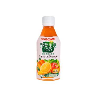 KAGOME - 甘筍混合汁 - 280MLX3