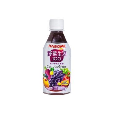 KAGOME - 提子混合汁 - 280MLX3