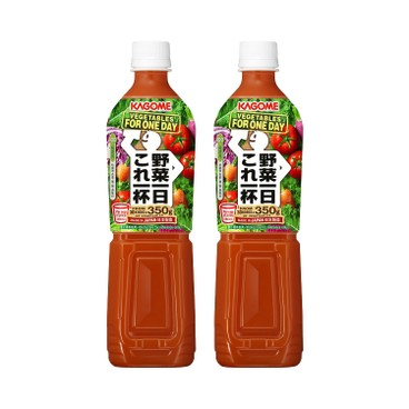 KAGOME - 100 Vegetable Juice - 720MLX2