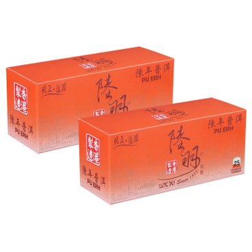 LUK YU - CHINESE TEABAGS-PU ERH - 25'SX2