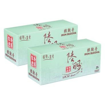 LUK YU - CHINESE TEABAGS-IRON BUDDHA - 25'SX2