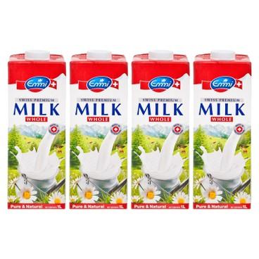 EMMI 伊美 - 瑞士特級全脂牛奶 - 1LX4