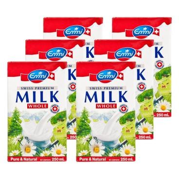 EMMI 伊美 - 瑞士特級全脂牛奶 - 250MLX6