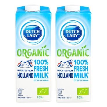 DUTCH LADY - Organic Pure Milk - 1LX2