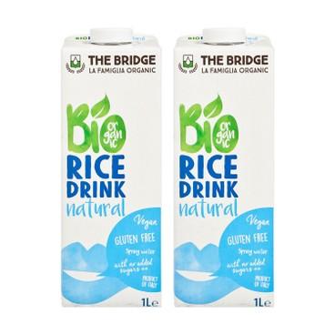 THE BRIDGE - Bio Rice Drink natural - 1LX2