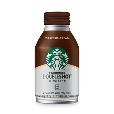 STARBUCKS - Double Shot Espresso Cream - 275MLX4