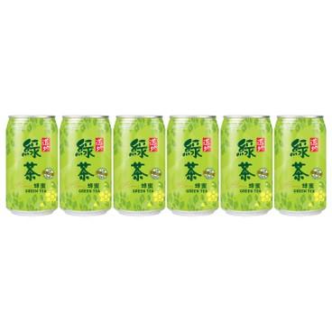 TAO TI - Honey Green Tea can - 340MLX6