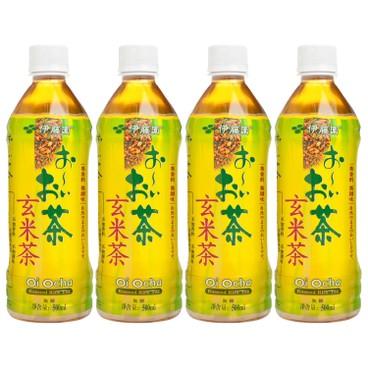 伊藤園 - 玄米茶 - 500MLX4