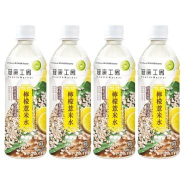 健康工房 - 檸檬薏米水 - 500MLX4