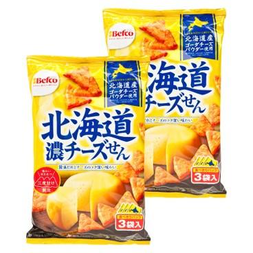 栗山 - 北海道濃郁芝士米餅 - 54GX2