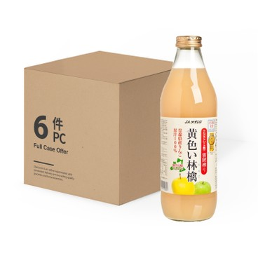 KIBOU NO SHIZUKU - 青森黃色林檎蘋果汁-原箱 - 1LX6