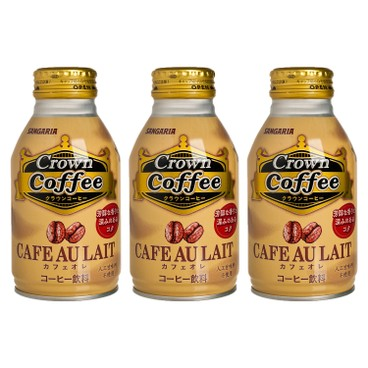 SANGARIA - Crown Coffee cafe Au Lait - 260MLX3