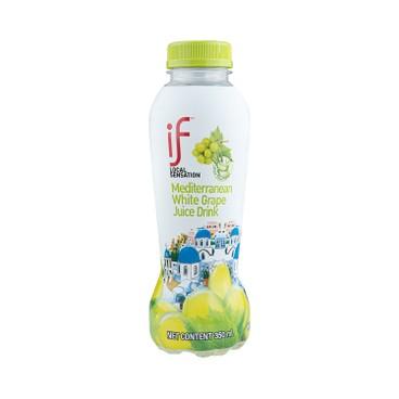 iF - Mediterranean White Grape Juice Drink With Aloe Vera - 350MLX4