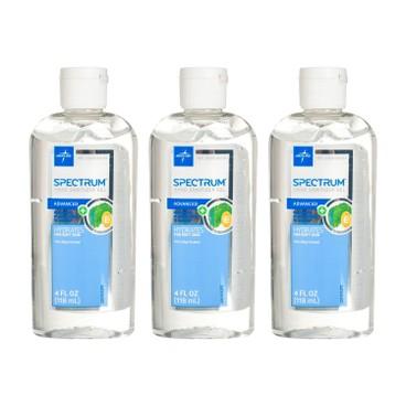 MEDLINE - Hand Sanitizer Spectrum Gel With 70 Alcohol - 118MLX3