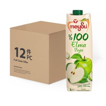 MEYSU - 100% APPLE JUICE-CASE OFFER - 1LX12