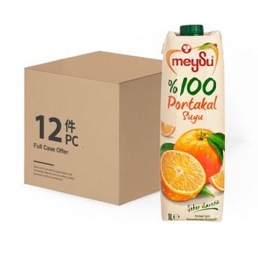 MEYSU - 100% PORTAKAL SUYU-CASE OFFER - 1LX12