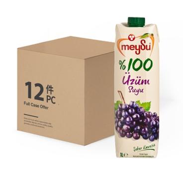 MEYSU - 100% UZUM SUYU-CASE OFFER - 1LX12