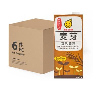 丸山 - 麥芽豆乳-原箱 - 1LX6