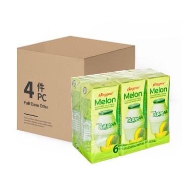 BINGGRAE - Melon Milk case Offer - 200MLX6X4