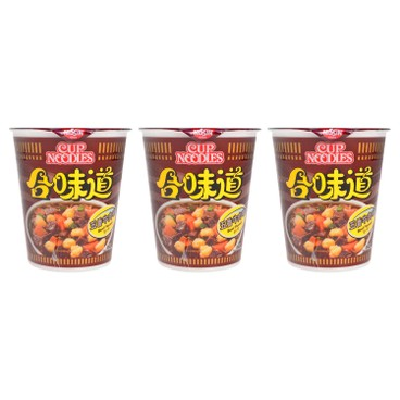 NISSIN - Cup Noodle beef - 75GX3