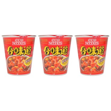 NISSIN - Cup Noodle shrimp - 75GX3