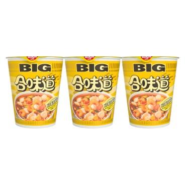NISSIN - Big Cup Noodle xo Sauce - 105GX3