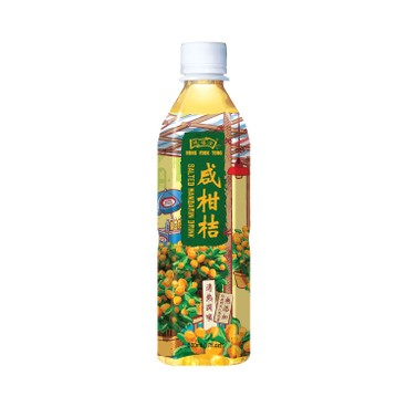 HUNG FOOK TONG - Salted Mandarin Drink - 500MLX6
