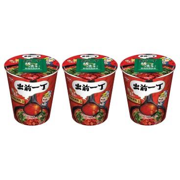 DE-MA-E - Cup Noodle chilli Miso Pork - 77GX3
