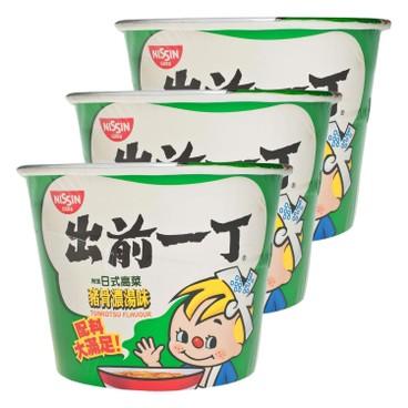 DE-MA-E - Bowl Noodle tonkotsu - 120GX3