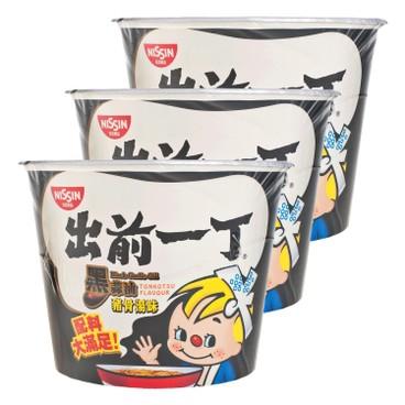 DE-MA-E - Bowl Noodle black Garlic Oil Tonkotsu - 105GX3