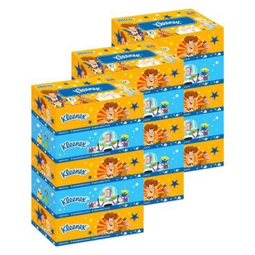 健力氏 - 迪士尼反斗奇兵4盒裝面紙 - 3件裝 - 5'SX3