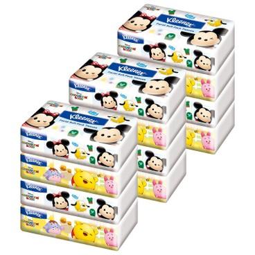 健力氏 - TSUM TSUM 軟包面紙 - 3件裝 - 4'SX3