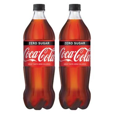 COCA-COLA - Coke Zero Pet - 1.25LX2