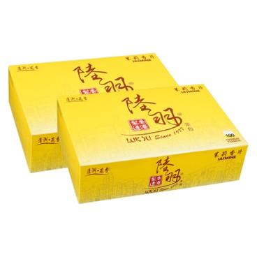 LUK YU - CHINESE TEABAGS-JASMINE - 100'SX2